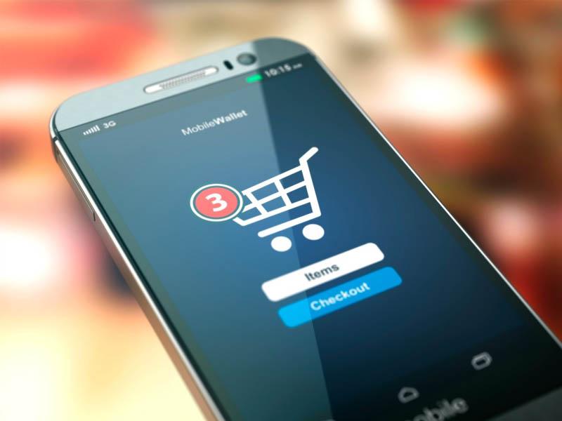Los dispositivos móviles dominan el comercio