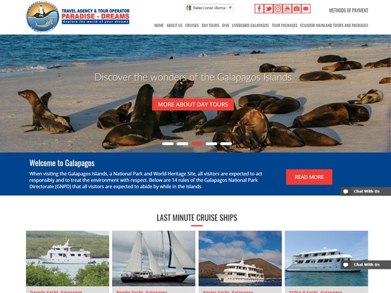 La importancia de una página web en la empresa turística