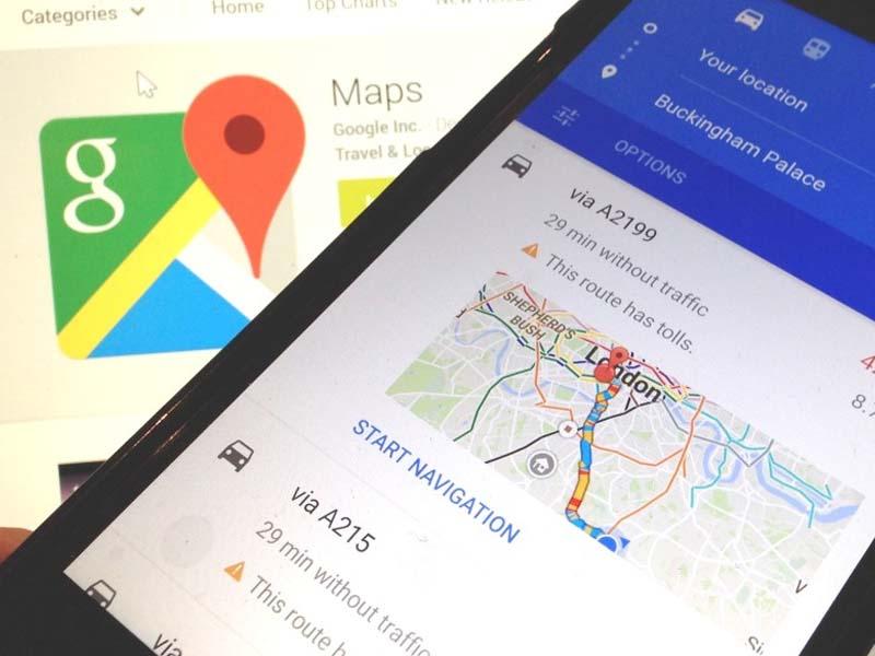 Google Maps suma más información en tiempo real en su última actualización