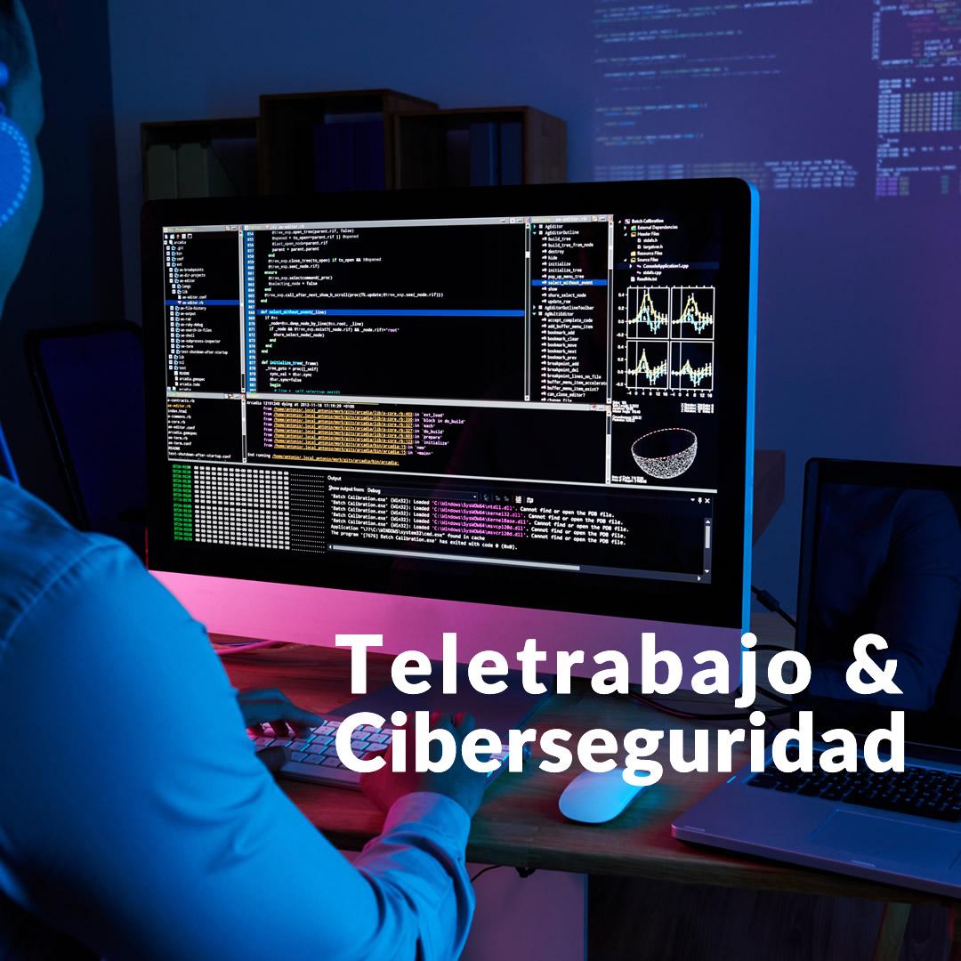 Teletrabajo y ciberseguridad ¿es seguro conectarse desde la red?