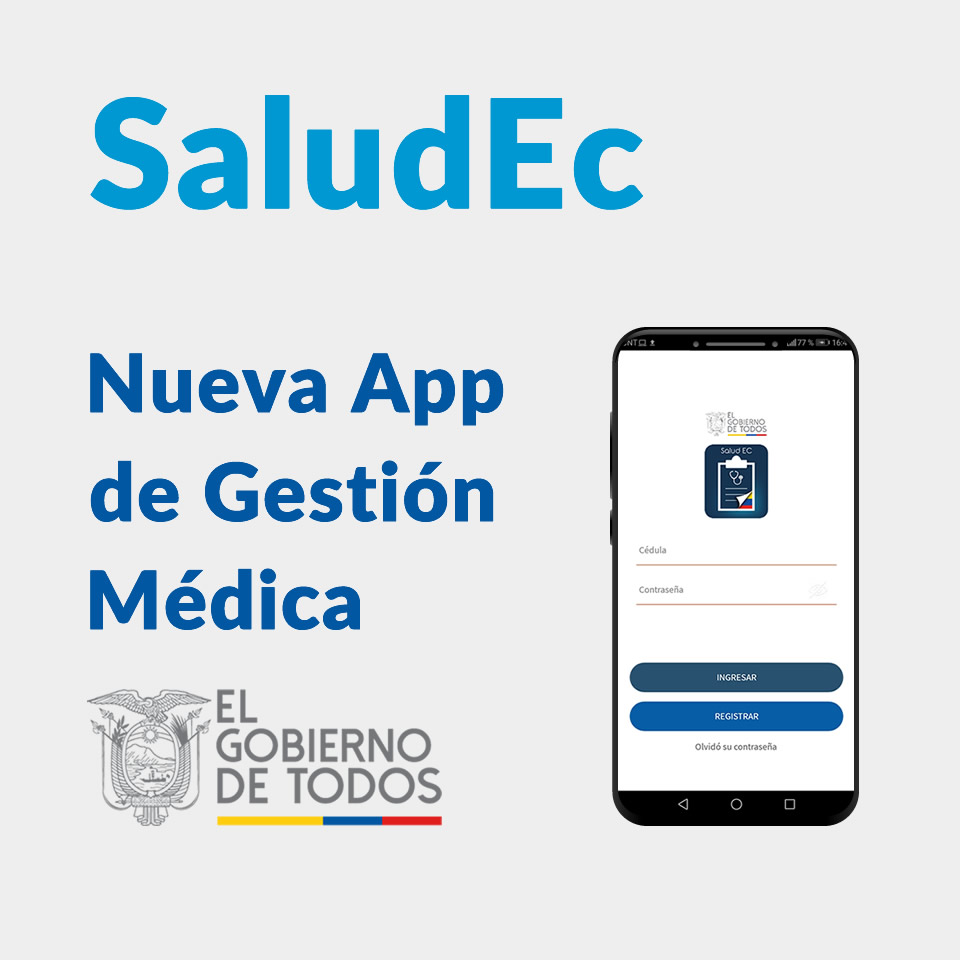 Nueva App de Gestión Médica - SaludEC