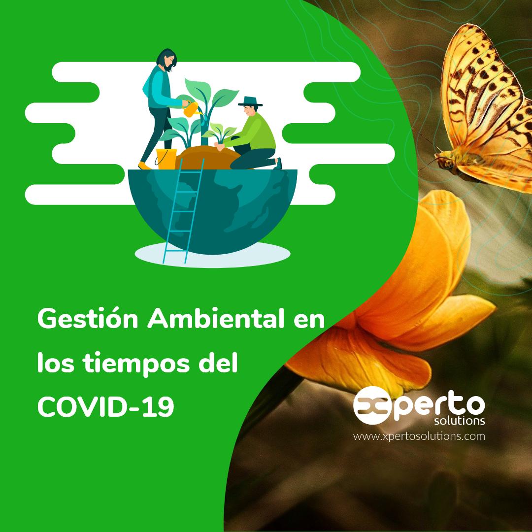La Gestión Ambiental en tiempos del COVID- 19