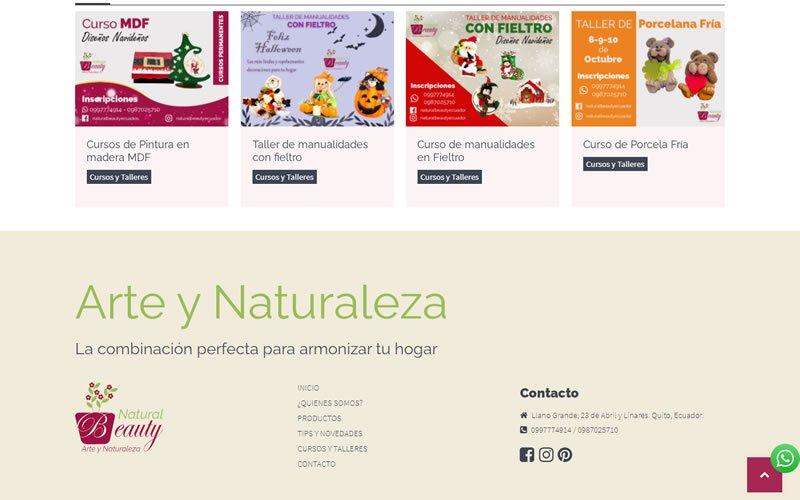 Catálogo Ecommerce de Productos para Natura Beauty