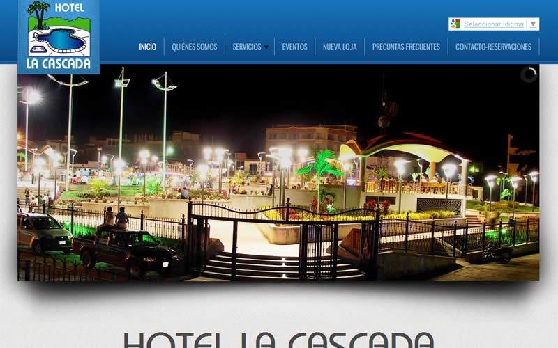 Hotel La Cascada Web