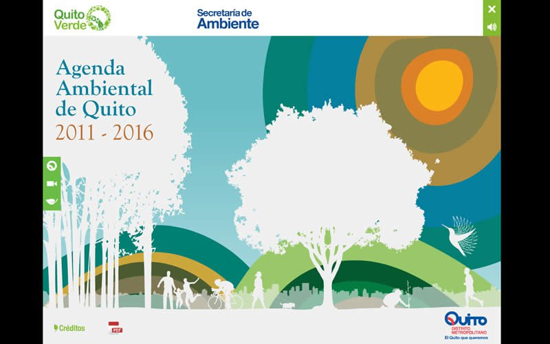 CD Multimedia Agenda Ambiental de Quito