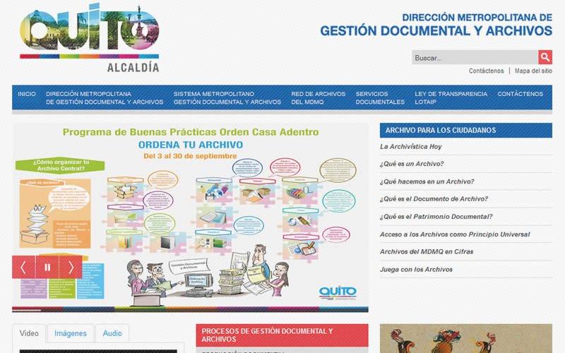 Dirección Metropolitana de Gestión Documental