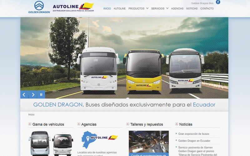 Catalogo web Autoline