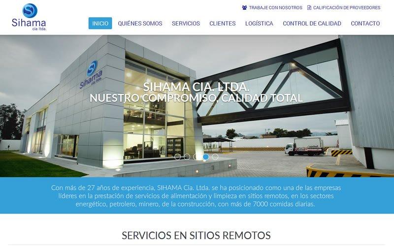 SIHAMA Sitio Web