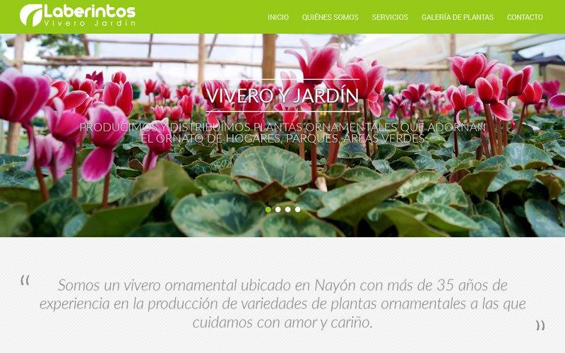 Vivero Laberintos web