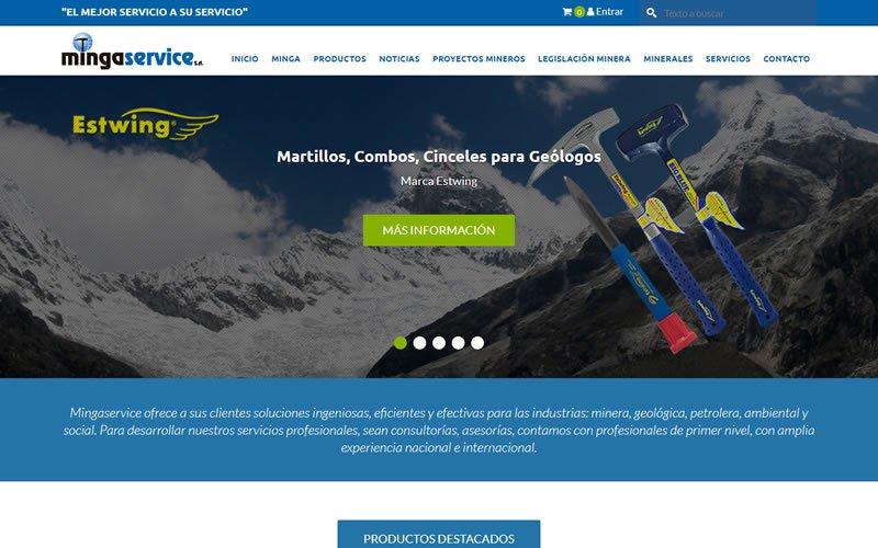 Mingaservice Portal de Noticias y Catalogo