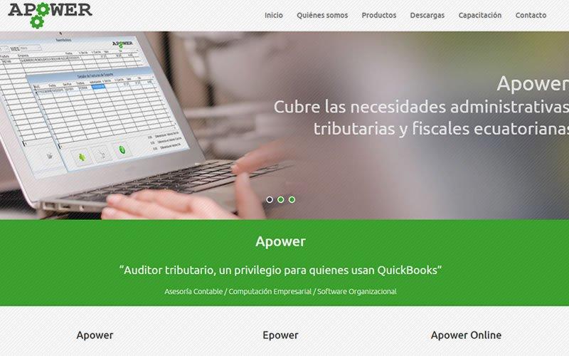 Web Apower para Quickbooks