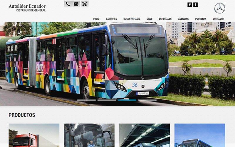 Catálogo de Camiones Mercedes-Benz Ecuador