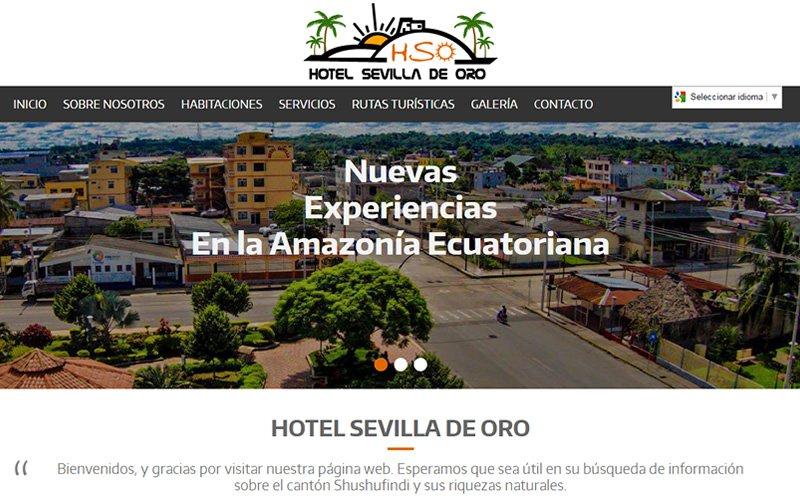Hotel Sevilla de Oro Web