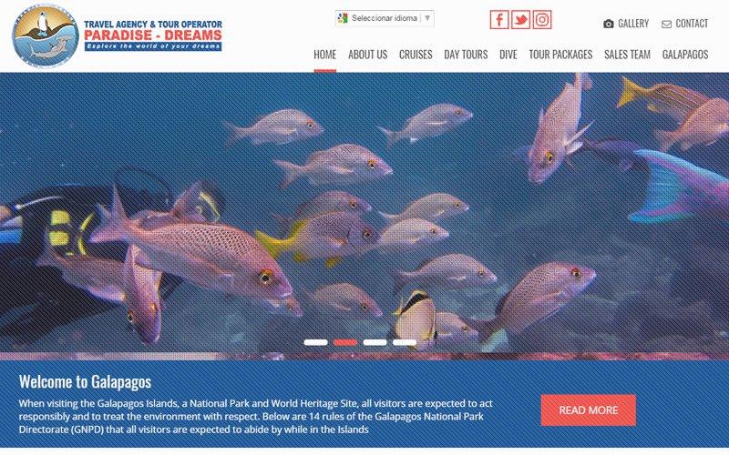Galapagos Paradise Dreams Web
