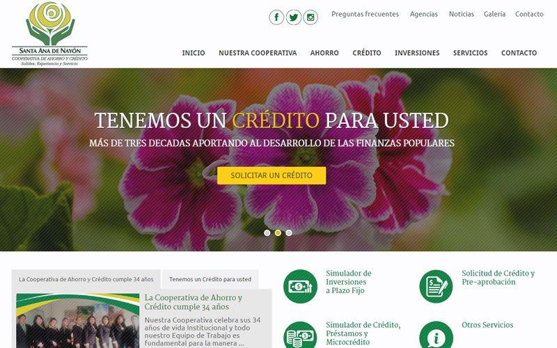 Sitio Web COACSA