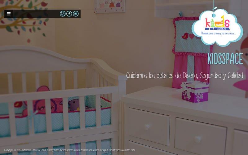 Sitio web KIDSSPACE muebles