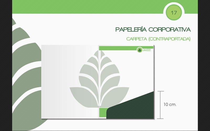 Diseño de Logotipo Jardines Marcelo