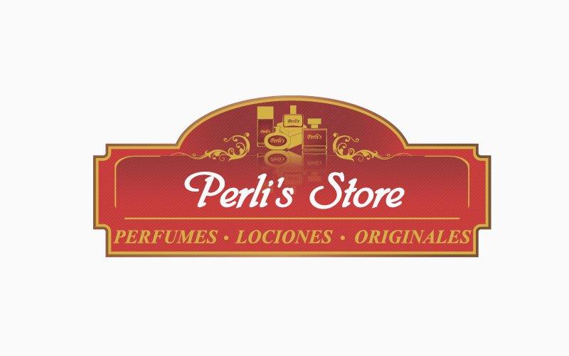 Diseño logotipo PerlisStore