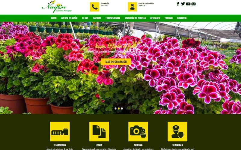 Portal Web GAD Parroquial de Nayón