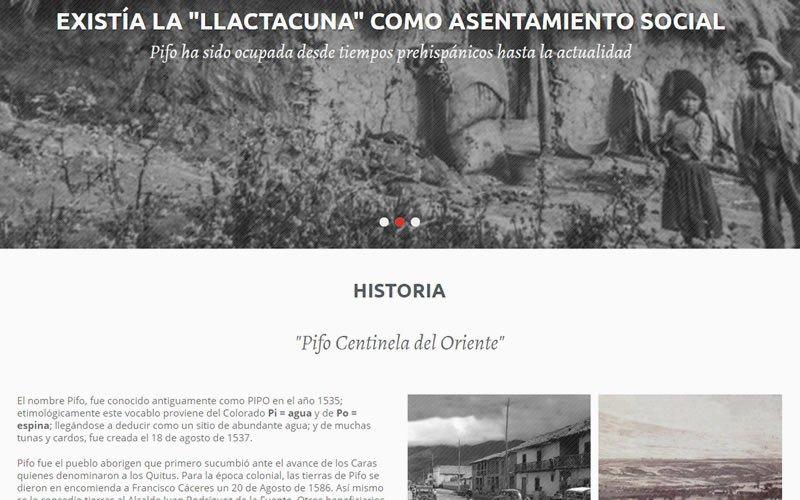 Portal Web GAD Parroquial de Pifo