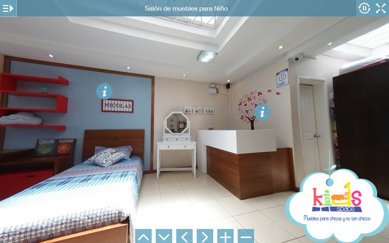 Tour Virtual 360 Grados Kidsspace