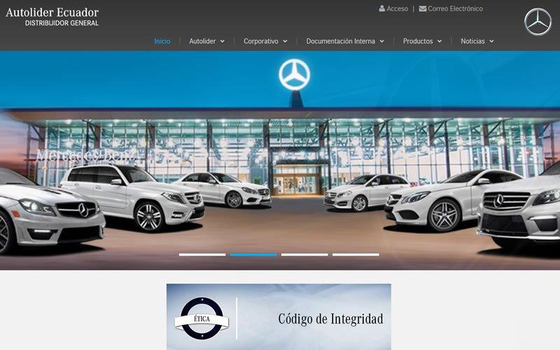 Intranet Autolider Mercedes-Benz