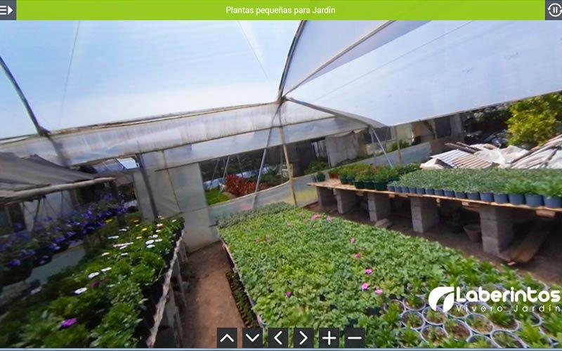 Tour Virtual 360 Grados Laberintos Vivero Jardin