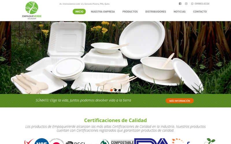 Catálogo Web EmpaqueVerde Ecuador